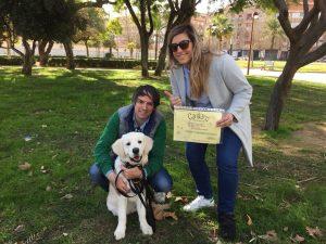 Curso educación para cachorros , CANILAND Escuela Canina Valencia